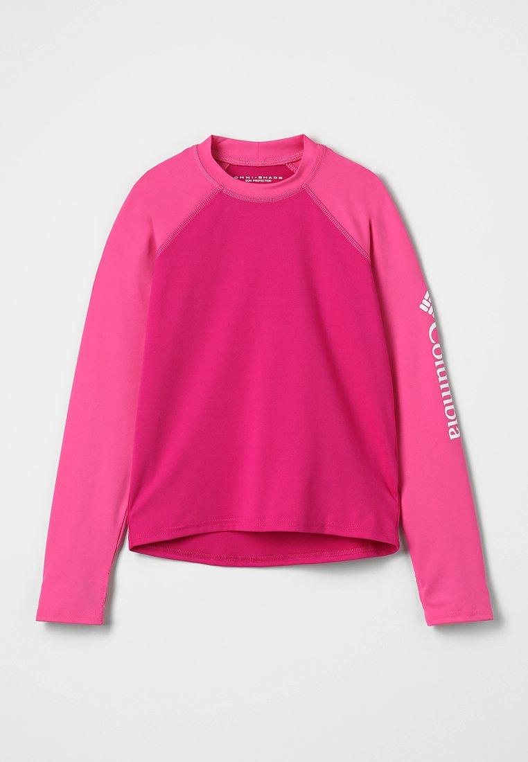 Columbia - SANDY SHORES SUNGUARD - Langarmshirt - haute pink/wild geranium/white