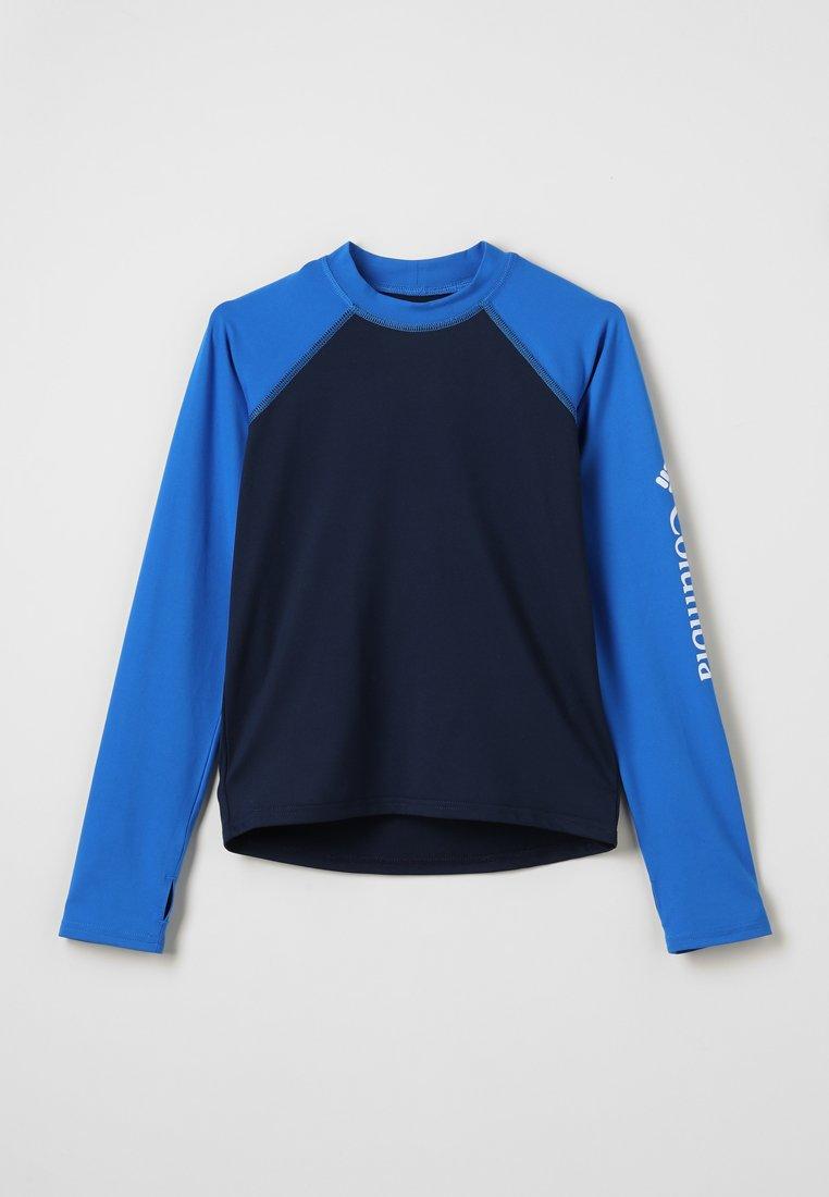 Columbia - SANDY SHORES SUNGUARD - Langarmshirt - collegiate navy/super blue/white