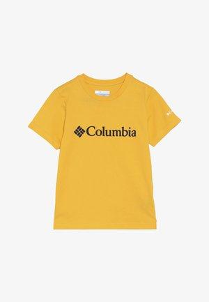 BASIC LOGO YOUTH SHORT SLEEVE - T-shirt con stampa - stinger/collegiate navy