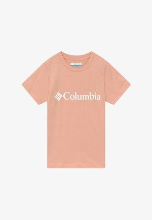 BASIC LOGO YOUTH SHORT SLEEVE - T-shirt print - peach cloud