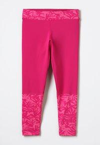 Columbia - TRULLI TRAILS PRINTED LEGGINGS - Tights - pink - 0