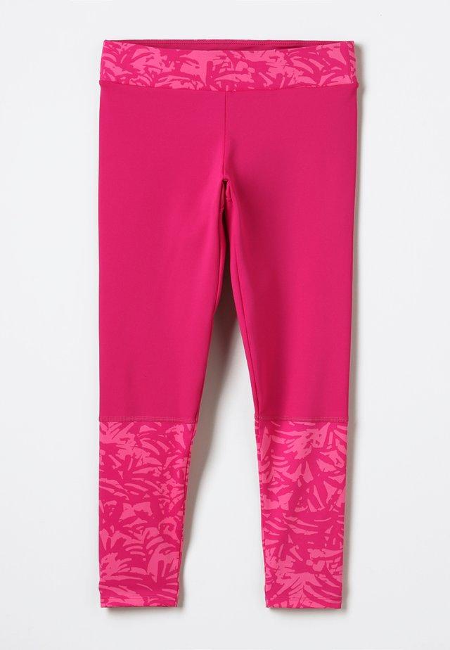 TRULLI TRAILS PRINTED LEGGINGS - Collants - pink