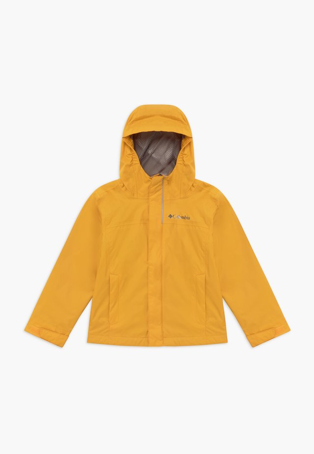 WATERTIGHT - Waterproof jacket - bright gold