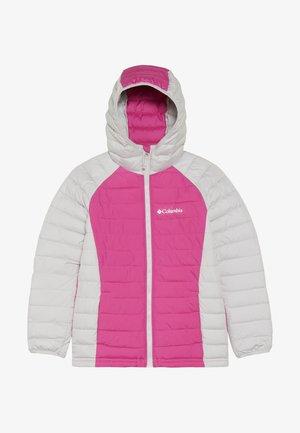 POWDER LITE™ GIRLS HOODED JACKET - Kurtka zimowa - pink ice