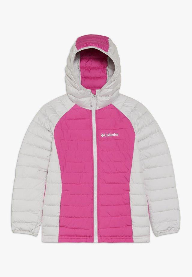 POWDER LITE™ GIRLS HOODED JACKET - Veste d'hiver - pink ice