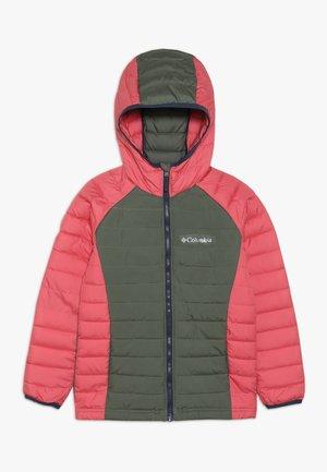 POWDER LITE™ GIRLS HOODED JACKET - Zimní bunda - cypress