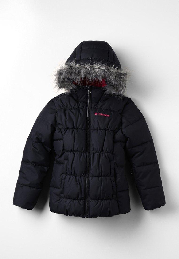 Columbia - GYROSLOPE™ JACKET - Chaqueta de esquí - black/cactus pink