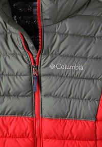 Columbia - POWDER LITE™ BOYS HOODED JACKET - Talvitakki - red/blue/green - 1