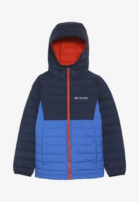 Columbia - POWDER LITE™ BOYS HOODED JACKET - Veste d'hiver - super blue - 3