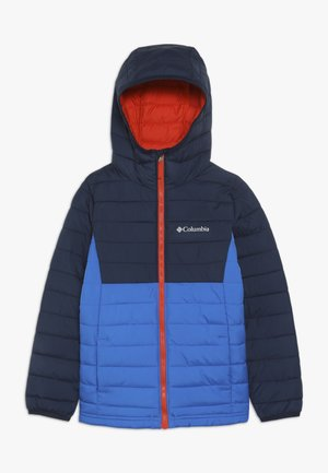 POWDER LITE™ BOYS HOODED JACKET - Talvitakki - super blue