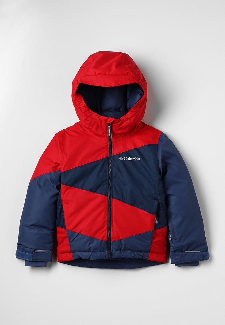 Columbia - WILDSTAR™ JACKET - Chaqueta de esquí - red spark/collegiate navy heather