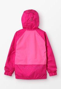 Columbia - SPLASH S'MORE JACKET - Vodotěsná bunda - haute pink/wild geranium/nocturnal - 1
