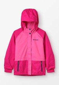 Columbia - SPLASH S'MORE JACKET - Vodotěsná bunda - haute pink/wild geranium/nocturnal - 0