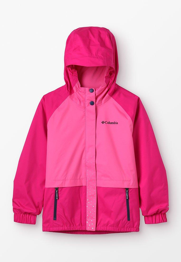 Columbia - SPLASH S'MORE JACKET - Vodotěsná bunda - haute pink/wild geranium/nocturnal