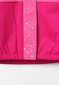 Columbia - SPLASH S'MORE JACKET - Vodotěsná bunda - haute pink/wild geranium/nocturnal - 3