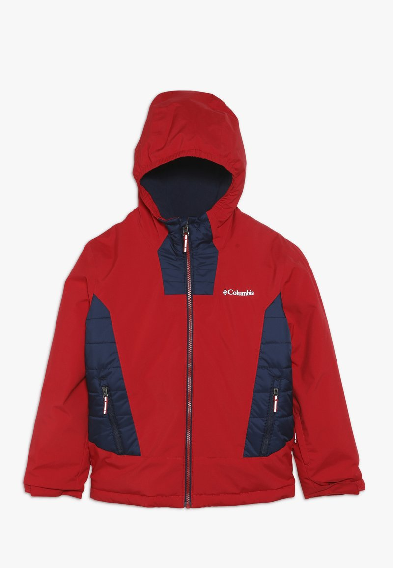 Columbia - WILD CHILD JACKET - Ski jacket - mountain red