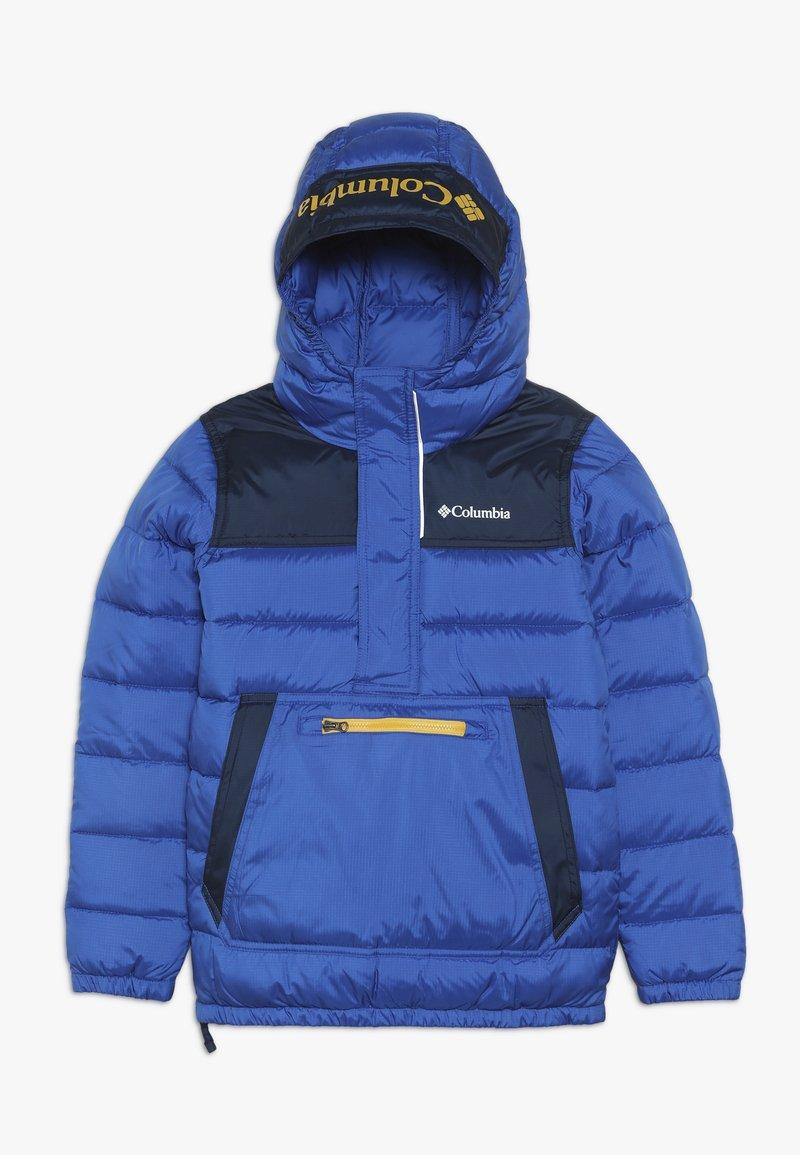 Columbia - WOODPORT PULLOVER JACKET - Veste d'hiver - azul/collegiate navy
