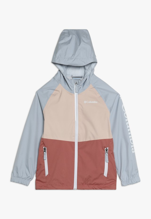 DALBY SPRINGS JACKET - Outdoor jacket - dark coral/peach cloud