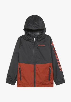 DALBY SPRINGS JACKET - Outdoorová bunda - carnelian red/shark