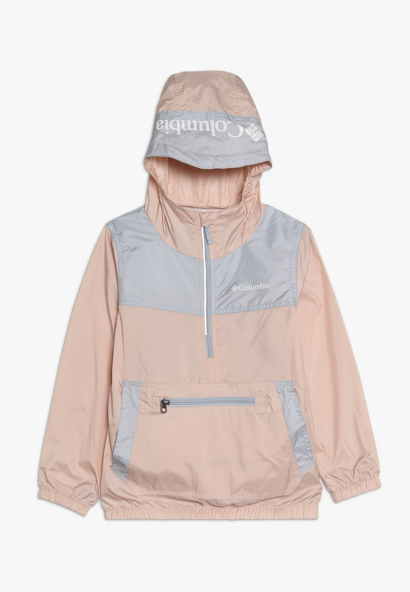 Columbia - BLOOMINGPORT - Veste coupe-vent - peach cloud/cirrus grey