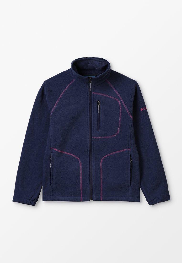 Columbia - FAST TREK FULL ZIP - Forro polar - dark blue/pink