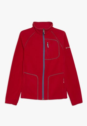 FAST TREK FULL ZIP - Fleecejakker - mountain red
