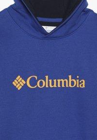 Columbia - BASIC LOGO YOUTH HOODIE - Huppari - azul/collegiate navy - 2