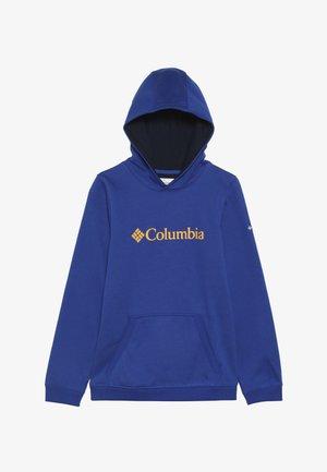 BASIC LOGO YOUTH HOODIE - Hoodie - azul/collegiate navy
