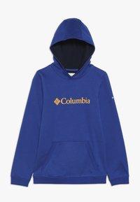 Columbia - BASIC LOGO YOUTH HOODIE - Huppari - azul/collegiate navy - 0