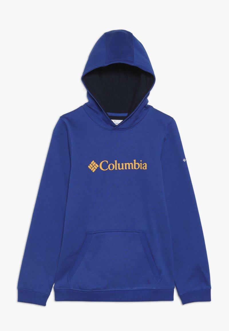 Columbia - BASIC LOGO YOUTH HOODIE - Huppari - azul/collegiate navy
