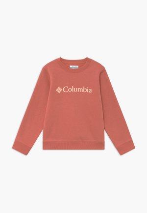 PARK CREW - Sweatshirt - dark coral