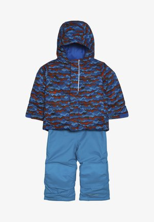 BUGA™ SET - Snowboardjas - turquoise/orange