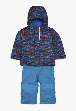 BUGA™ SET - Snowboardjacka - turquoise/orange