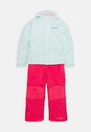 BUGA™ SET - Combinaison de ski - sea ice/pink orchid
