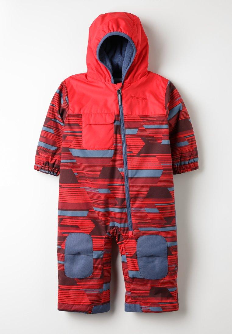 Columbia - HOT-TOT SUIT - Pantaloni da neve - red spark