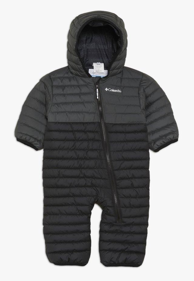 POWDER LITEREVERSIBLE BUNTING - Snowsuit - black