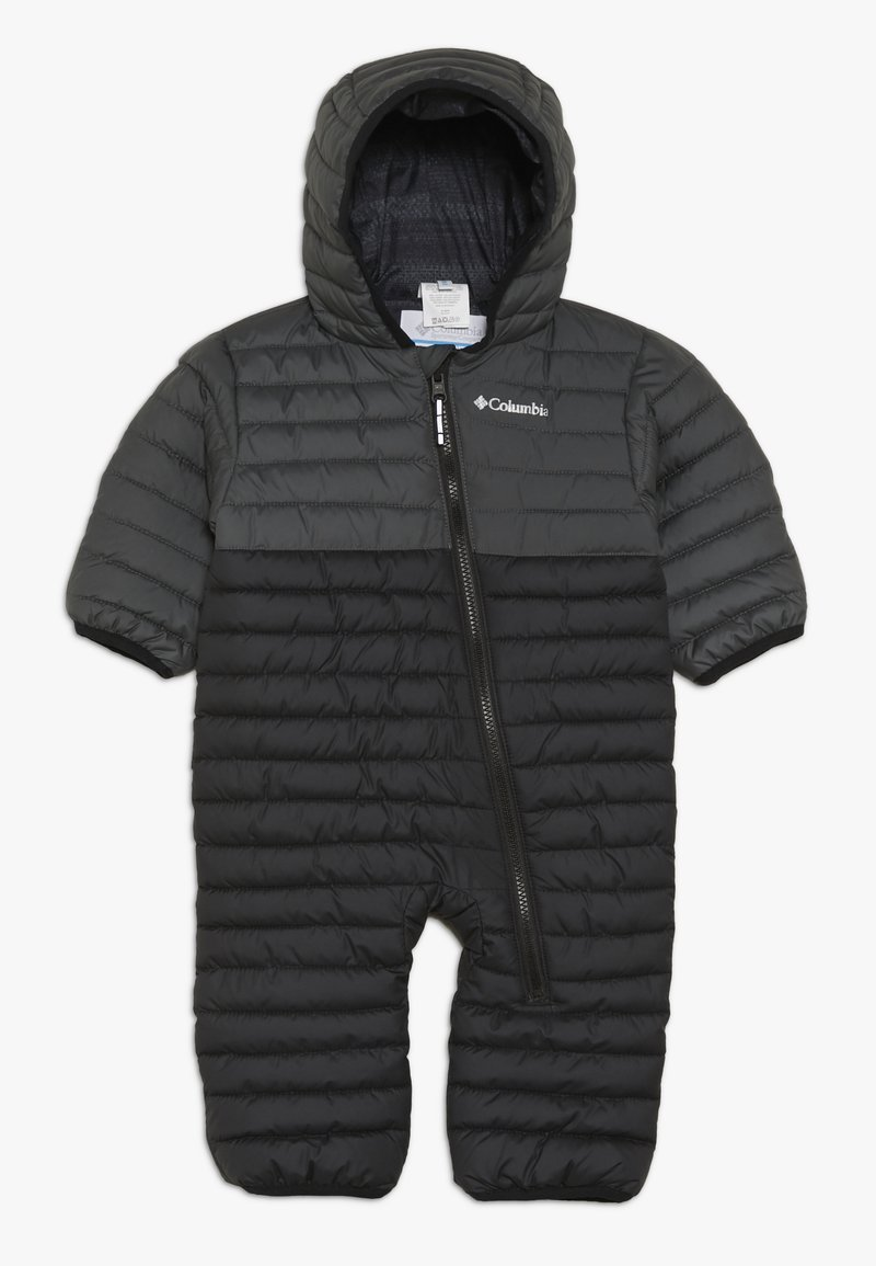 Columbia - POWDER LITE REVERSIBLE BUNTING - Snowsuit - black