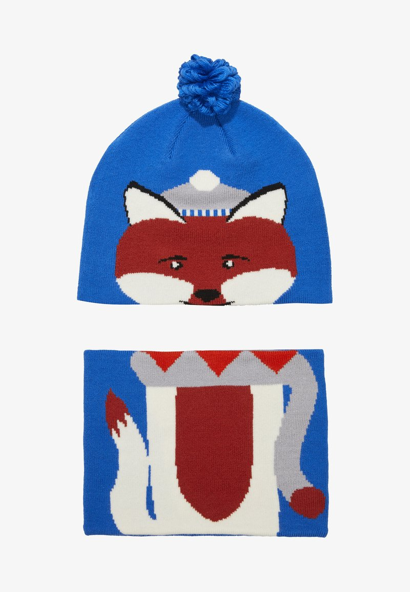 Columbia - YOUTH SNOW MORE HAT FOX SET - Mütze - super blue