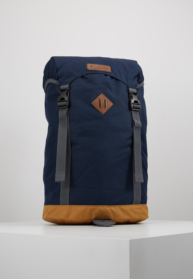 Columbia - CLASSIC OUTDOOR 25L DAYPACK - Rucksack - collegiate navy heather/maple