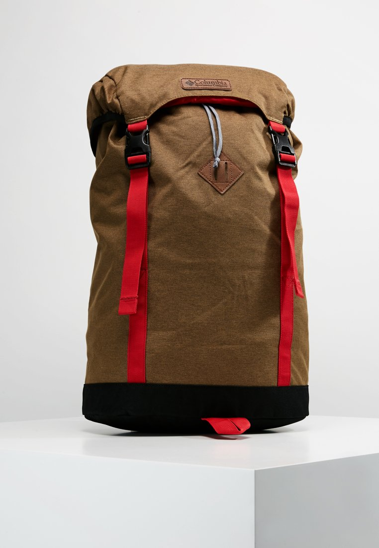 Columbia - CLASSIC OUTDOOR 25L DAYPACK - Rugzak - delta heather/mountain red