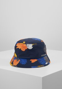 Columbia - PINE MOUNTAIN™ BUCKET HAT - Hat - collegiate navy tropical monsteras/azul - 0