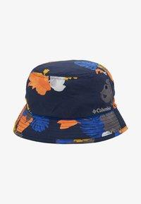 Columbia - PINE MOUNTAIN™ BUCKET HAT - Hat - collegiate navy tropical monsteras/azul - 5