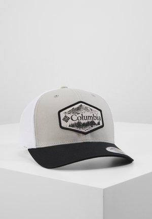 SNAP BACK HAT - Lippalakki - columbia grey/black