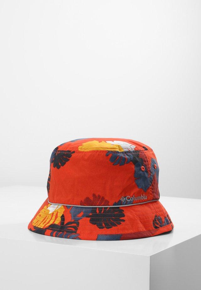 COLUMBIA BUCKET HAT UNISEX PINE MOUNTAIN BUCKET HAT - Hoed - wildfire tropical, columbia grey