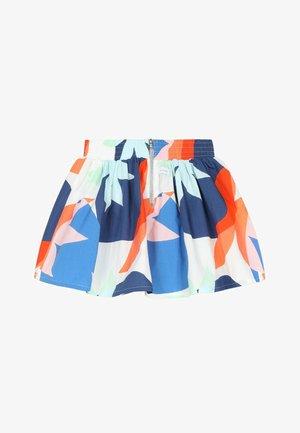 FLARED  - A-line skirt - white