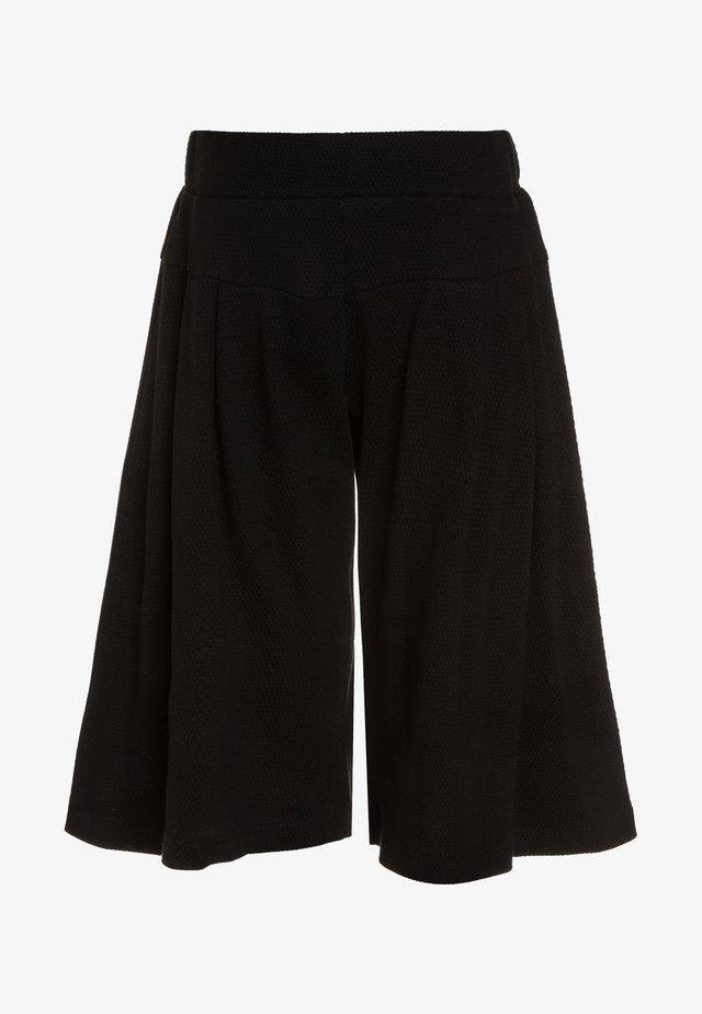 JUPE CULOTTE - Pantaloni - noir