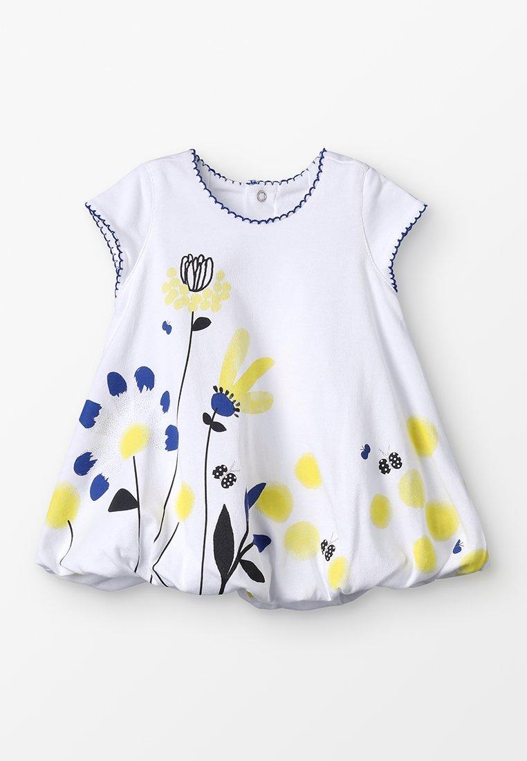 Catimini - ROBE BABY - Žerzejové šaty - blanc
