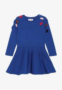 Catimini - ROBE TRICOT - Pletené šaty - bleu roi - 3