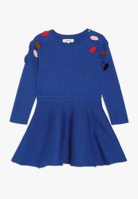 Catimini - ROBE TRICOT - Pletené šaty - bleu roi - 0