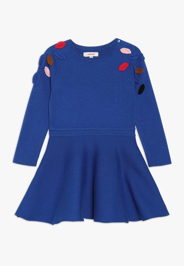 ROBE TRICOT - Robe pull - bleu roi